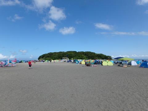 館山・沖ノ島でシュノーケリング